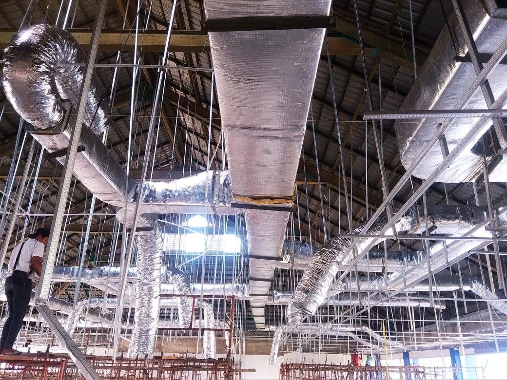 ducting gudang