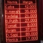 Distributor Running Text di Jakarta